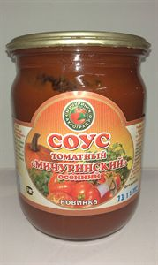 Изображение Соус томатный  «Мичуринский осенний»  500мл.